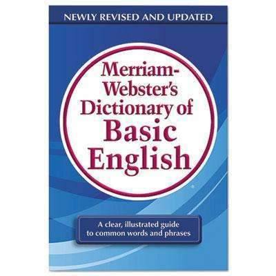 Janitorial Superstore ADVANTUS CORPORATION Dictionary of Basic English, Paperback, 800 Pages - Janitorial Superstore