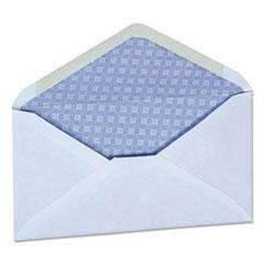 Janitorial Superstore UNIVERSAL OFFICE PRODUCTS Security Envelope, 3 5/8 x 6 1/2, White, 250/Box - Janitorial Superstore