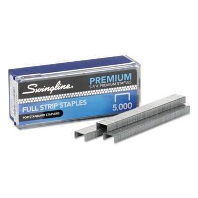 Janitorial SuperstoreSwingline® S.F.® 4® Premium Staples, 1/4 Length, 5,000/Box