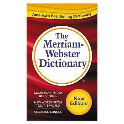 Janitorial Superstore ADVANTUS CORPORATION The Merriam-Webster Dictionary, 11th Edition, Paperback, 960 Pages - Janitorial Superstore