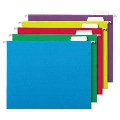 Janitorial SuperstoreDeluxe Bright Color Hanging File Folders