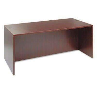 Janitorial Superstore ALERA Alera Valencia Series Straight Front Desk Shell,71w x 35 1/2d x 29 5/8h,Mahogany - Janitorial Superstore