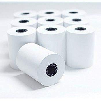 "Alliance Alliance Thermal Paper Receipt Rolls 2-1/4"" x 80' Thermal Register Tape 50 rolls/cs - Janitorial Superstore"