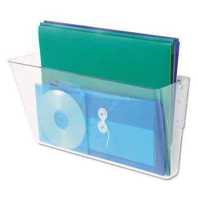 Universal Products Universal Add-on Pocket for Wall File, Letter, Clear - Janitorial Superstore