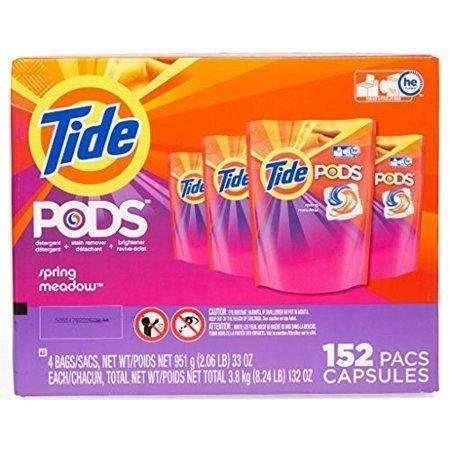Janitorial Superstore Tide Pods Laundry Detergent, Spring Meadow (152 ct.) - Janitorial Superstore