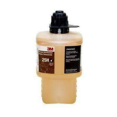 3M3M HB Quat Disinfectant Cleaner Concentrate 25L, Black Cap, 2 Liter, 6/case