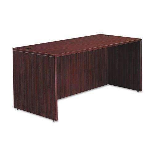 Janitorial Superstore ALERA Alera Valencia Series Straight Front Desk Shell,65w x 29 1/2d x 29 5/8h,Mahogany - Janitorial Superstore