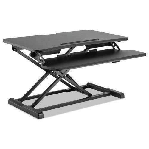 Janitorial SuperstoreALERA AdaptivErgo Sit-Stand Workstation, 31 1/2 x 26 1/8 x 19 7/8, Black