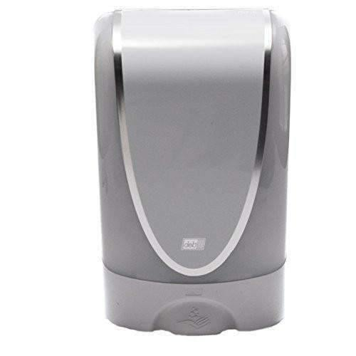 Deb Deb Touch Free Hand Dispenser White (Battery Operated) - Janitorial Superstore