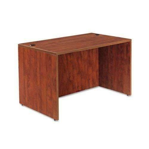 Janitorial SuperstoreALERA Alera Valencia Series Straight Desk Shell, 47 1/4 x 29 1/2 x 29 5/8, Med Cherry