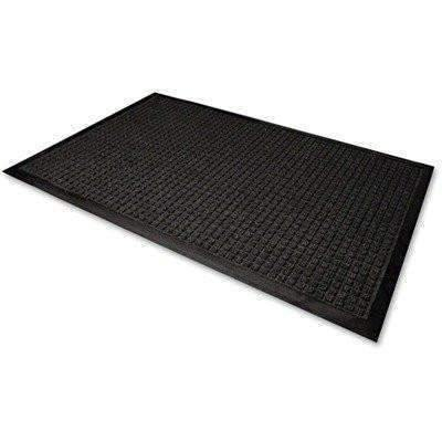 Janitorial SuperstoreWaterGuard Indoor/Outdoor Scraper Mat, 48 x 72, Charcoal