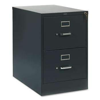 Hon HON® 310 Series Two-Drawer, Full-Suspension File, Legal, 26-1/2d, Charcoal - Janitorial Superstore