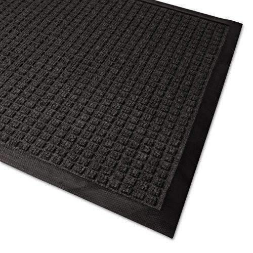 Janitorial SuperstoreWaterGuard Indoor/Outdoor Scraper Mat, 36 x 120, Charcoal