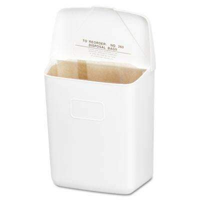 Janitorial SuperstoreHospeco Wall Mount Sanitary Napkin Receptacle,