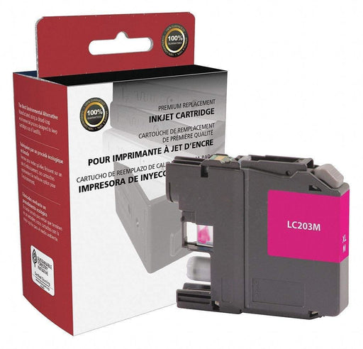 Janitorial SuperstoreInk Cartridge for Hewlett Packard, (Brother LC203), Magenta Ink, (LC-203M)(118105)