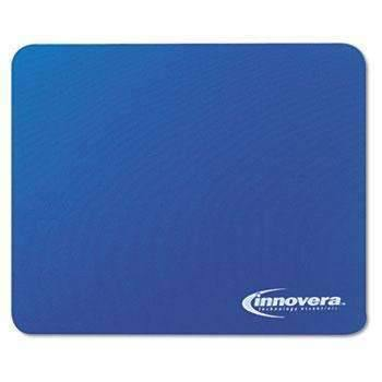 Janitorial SuperstoreInnovera® Natural Rubber Mouse Pad, Blue