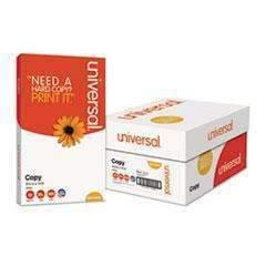 UNIVERSAL OFFICE PRODUCTS Copy Paper, 92 Bright, 20lb, 8 1/2 x 14, White, 5000/CT 10/Reems (1719427989576)