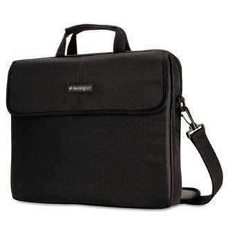 "Janitorial Superstore Kensington® 15.6"" Laptop Sleeve, Padded Interior, Inside/Outside Pockets, Black - Janitorial Superstore"