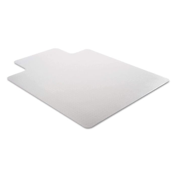 Janitorial SuperstoreCleated Chair Mat for Low and Medium Pile Carpet 36 x 48 Clear