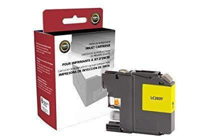 Janitorial SuperstoreInk Cartridge for Hewlett Packard, (Brother LC203), Yellow Ink, (LC-203Y)(118106)