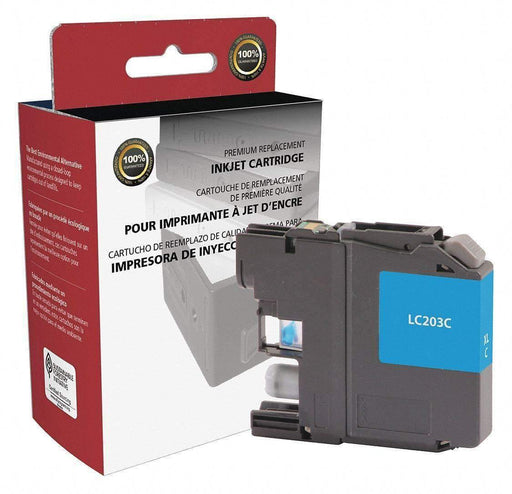 Janitorial SuperstoreInk Cartridge for Hewlett Packard, (Brother LC203), Cyan Ink, (LC-203C)(118104)