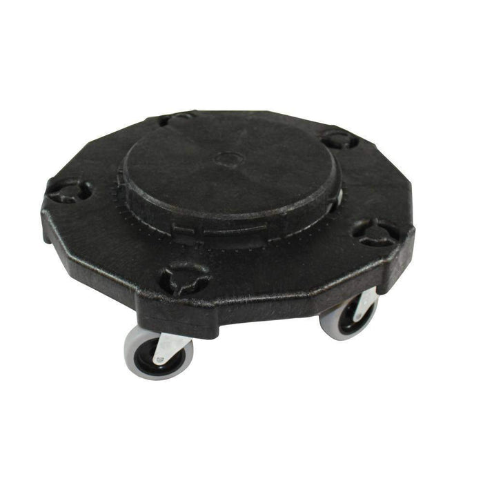 Impact Gator Dolly Black Plastic for Garbage Can