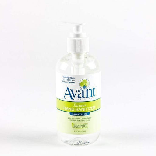Avant Avant Premium Citrus Fragrance-Free Hand Sanitizer, 8.5 oz - Janitorial Superstore