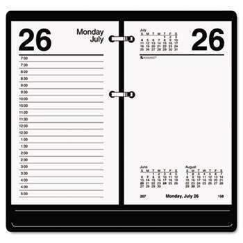 Janitorial Superstore AT-A-GLANCE® Recycled Desk Calendar Refill, 3 1/2 x 6, White, 2018 - Janitorial Superstore