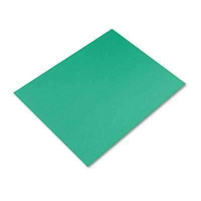 Janitorial SuperstorePACON CORPORATION Peacock Four-Ply Railroad Board, 22 x 28, Holiday Green, 25/Carton (5466-1)