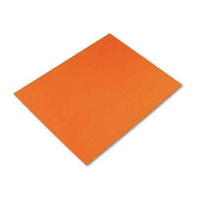 Janitorial SuperstorePACON CORPORATION Peacock Four-Ply Railroad Board, 22 x 28, Orange, 25/Carton (5478-1)