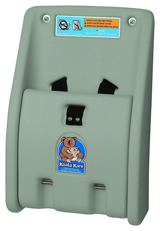 koala KareKoala Kare KB102-01 Wall Mounted Child Protection Seat, Gray