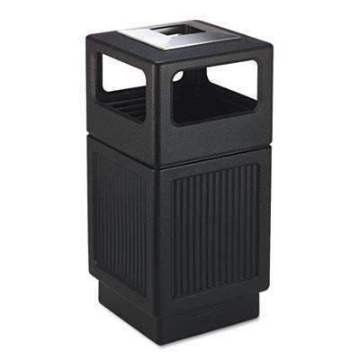 Janitorial Superstore Safco Canmeleon Ash Urn 38-gal Waste Receptacle - Janitorial Superstore