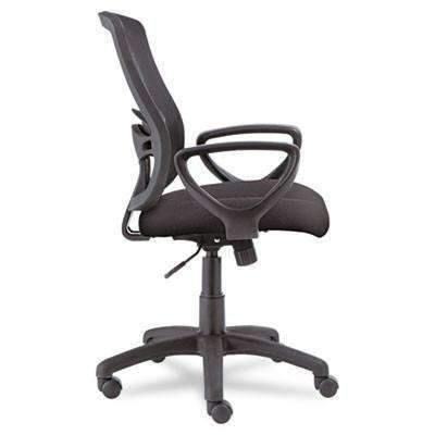 AleraAlera® Alera Etros Series Mesh Mid-Back Swivel/Tilt Chair, Black