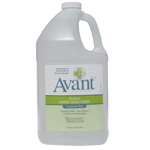 Avant Avant Original Fragrance-Free Hand Sanitizer, 1 Gallon - Janitorial Superstore