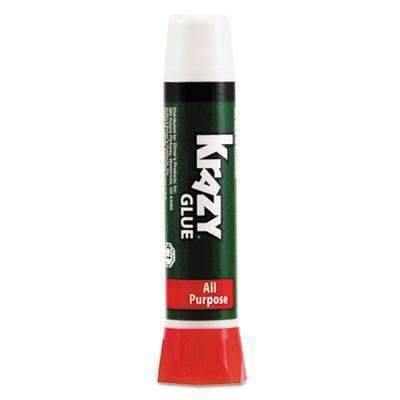 Janitorial Superstore Krazy Glue® All Purpose Krazy Glue, Precision-Tip Applicator, 0.07oz - Janitorial Superstore