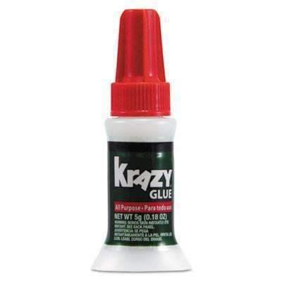 Krazy Glue® All Purpose Brush-On Krazy Glue, .17oz, Clear