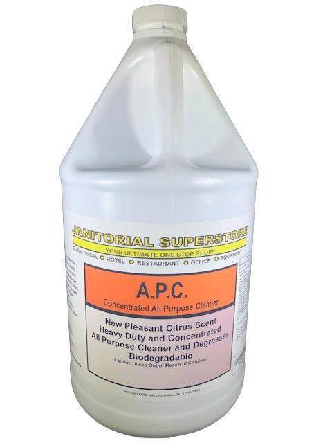 Janitorial Superstore JSS Super APC All Purpose Cleaner, Orange Scented (Concentrated) - Janitorial Superstore