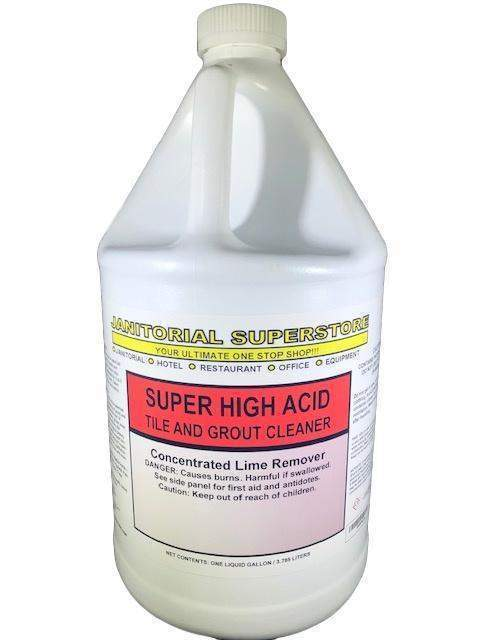 Janitorial SuperstoreJSS Super High Acid Tile & Grout Cleaner, High Acid Based (Concentrated)