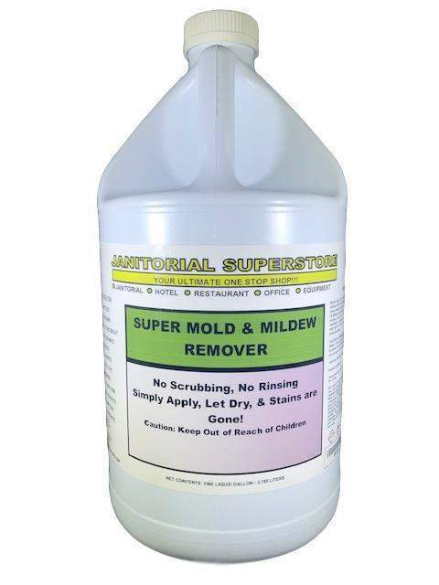 JSS Super Mold & Mildew Remover (Not for use on Carpets)