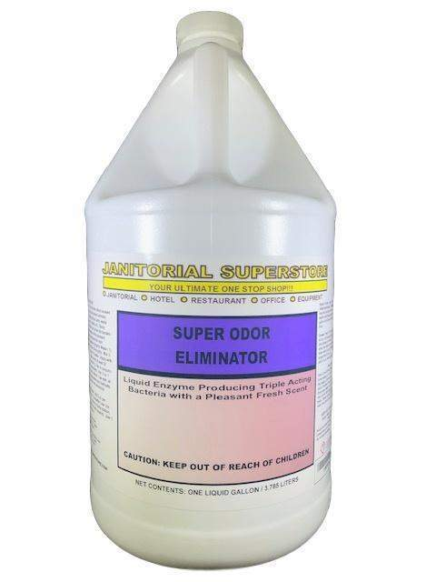 Janitorial Superstore JSS Super Odor Eliminator with Enzymes, Fresh Scented (Concentrated) - Janitorial Superstore