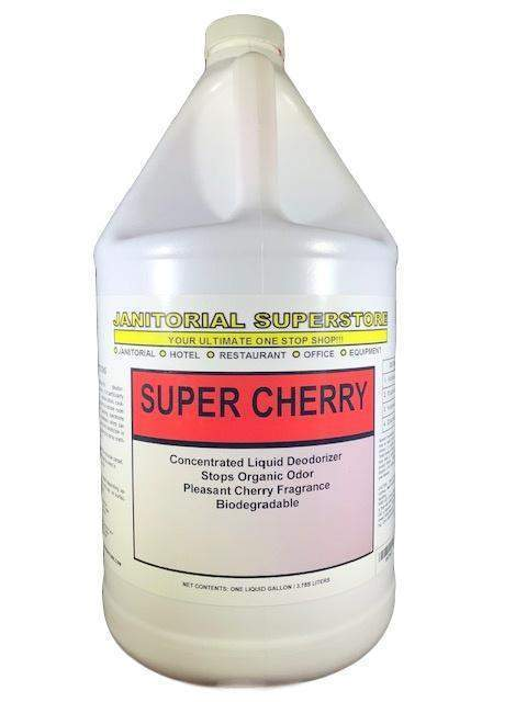 Janitorial Superstore JSS Super Cherry Deodorizer, Cherry Scented (Concentrated) - Janitorial Superstore