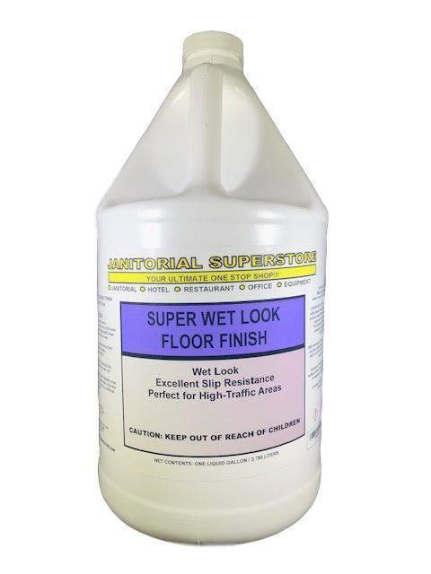Janitorial Superstore JSS Super Wet Look Floor Finish - Janitorial Superstore