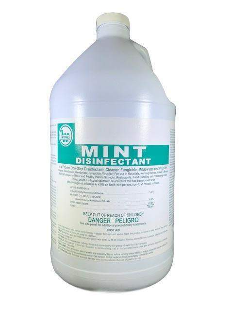 Wepak Wepak Disinfectant Hospital Grade Mint Scented (Concentrated) - Janitorial Superstore