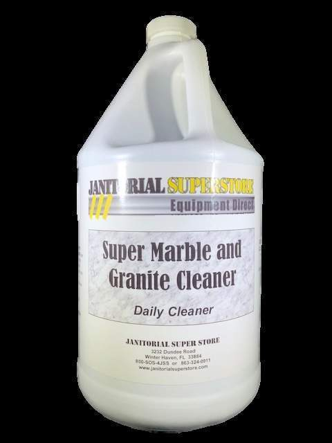 Janitorial Superstore JSS Super Marble & Granite Daily Cleaner (Concentrated) - Janitorial Superstore