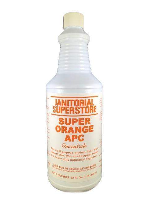 Janitorial SuperstoreJSS Super APC All Purpose Cleaner, Orange Scented (Concentrated)