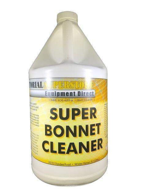 Janitorial Superstore JSS Super Bonnet Cleaner (Concentrated) - Janitorial Superstore
