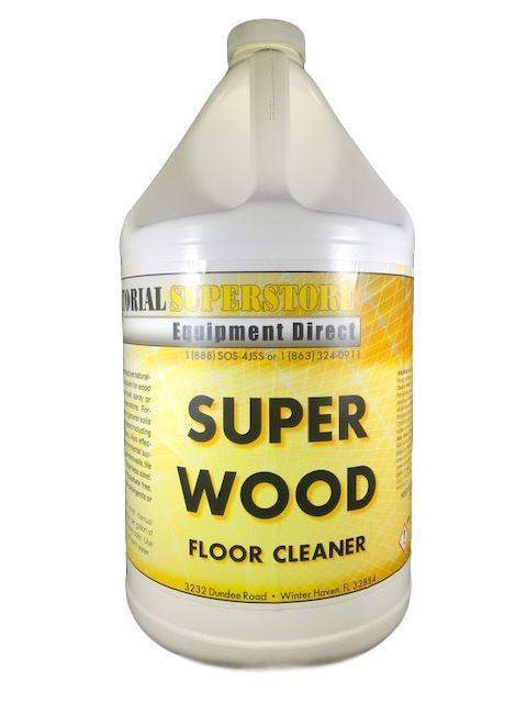 Janitorial Superstore JSS Super Wood Floor Cleaner (Concentrated) - Janitorial Superstore