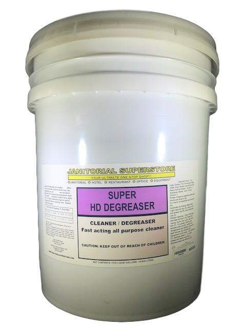Janitorial Superstore JSS Super H.D. Degreaser, Heavy Duty Degreaser, 5 Gallon Bucket (Concentrated) - Janitorial Superstore