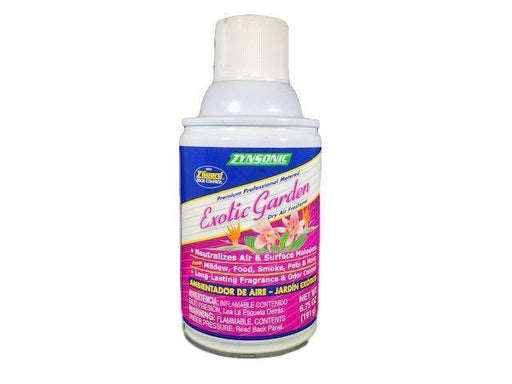Zynsonic Zynsonic Air Freshener Metered Scents, Exotic Garden Scented - Janitorial Superstore
