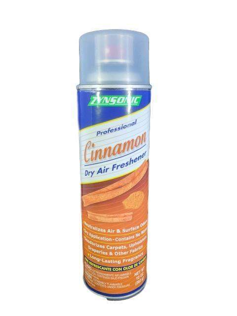 Zynsonic Cinnamon Dry Air Freshener Handheld Spray Can, Odor Eliminator (7368956294)